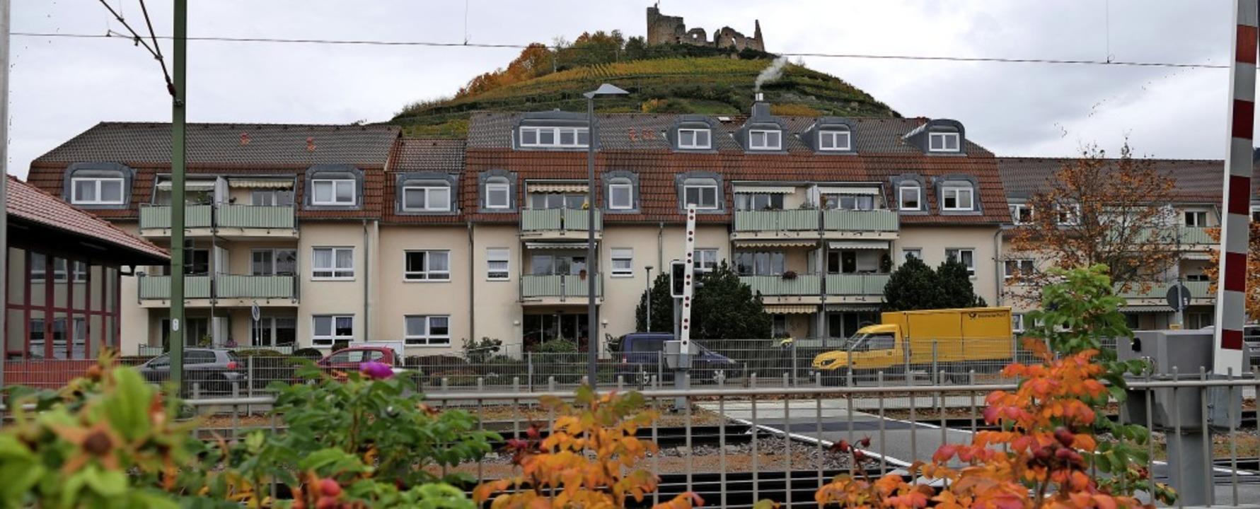 Mitten im Leben, direkt am Bahnhof und...ick: AWO-Seniorenwohnanlage in Staufen  | Foto: Hans-Peter Müller