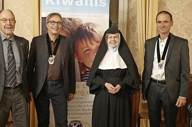 Wolfgang Gall ist neuer Kiwanis-Präsident