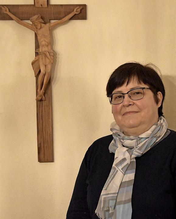 Vera Fath, stellvertretende Vorsitzend...ch neue Vorsitzende des Dekanatsrats.   | Foto: Horatio Gollin