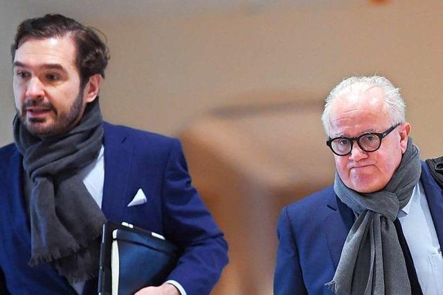 Trotz Unstimmigkeiten: DFB-Chef Fritz Keller und Generalsekretär Friedrich Curtius wollen sich zusammenraufen