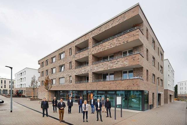 110 Mietwohnungen im Neubaugebiet Seidenfaden bezugsfertig