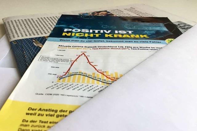 Fakes im Briefkasten: falsche und veraltete Fakten auf Corona-Flyern
