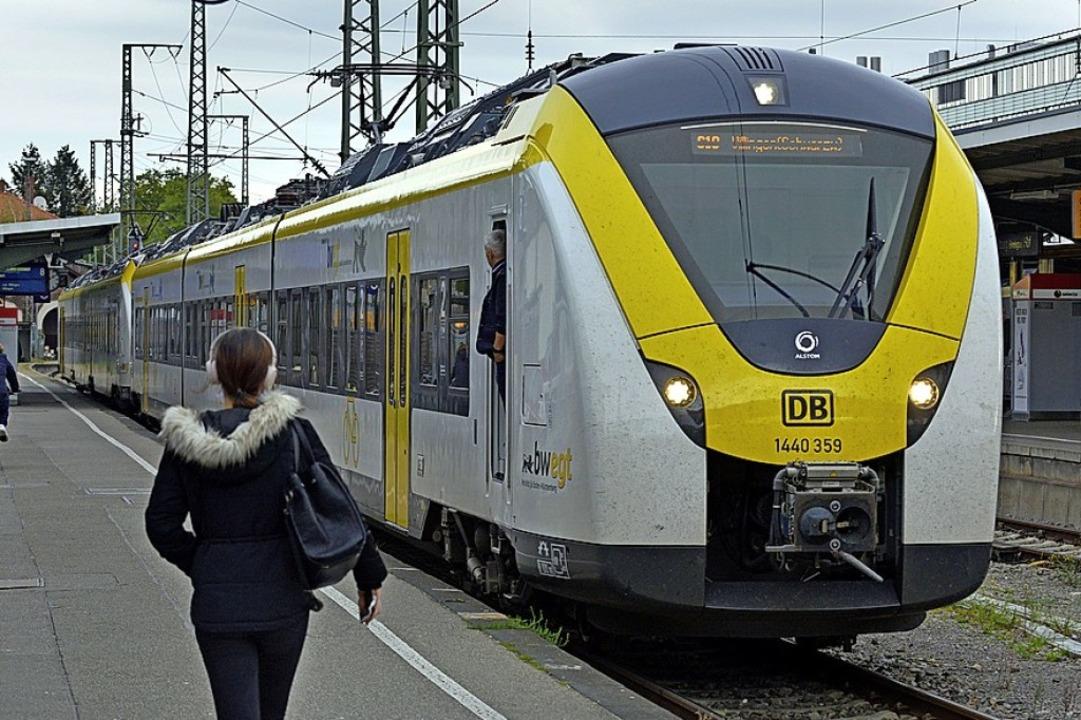 Steht in der Kritik: die Breisgau-S-Bahn.  | Foto: Michael Bamberger
