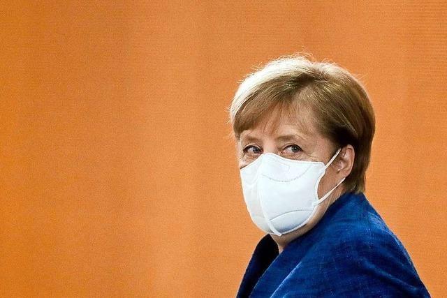 Merkel: Gebot der Stunde heißt Kontakte reduzieren