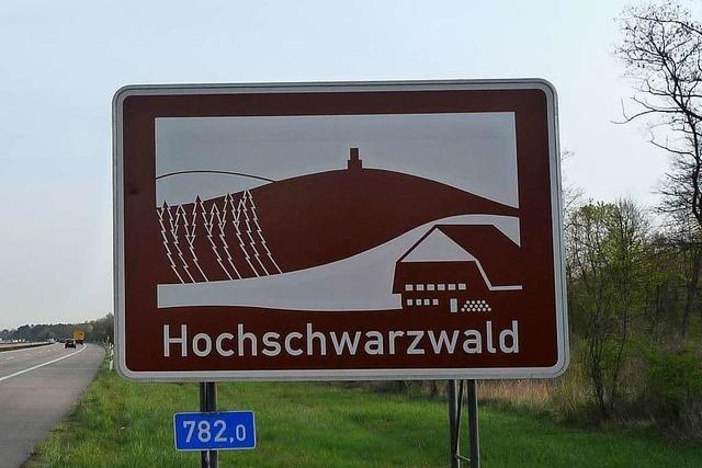 Niemand weiß, wie viele touristische Unterrichtungstafeln an Autobahnen stehen