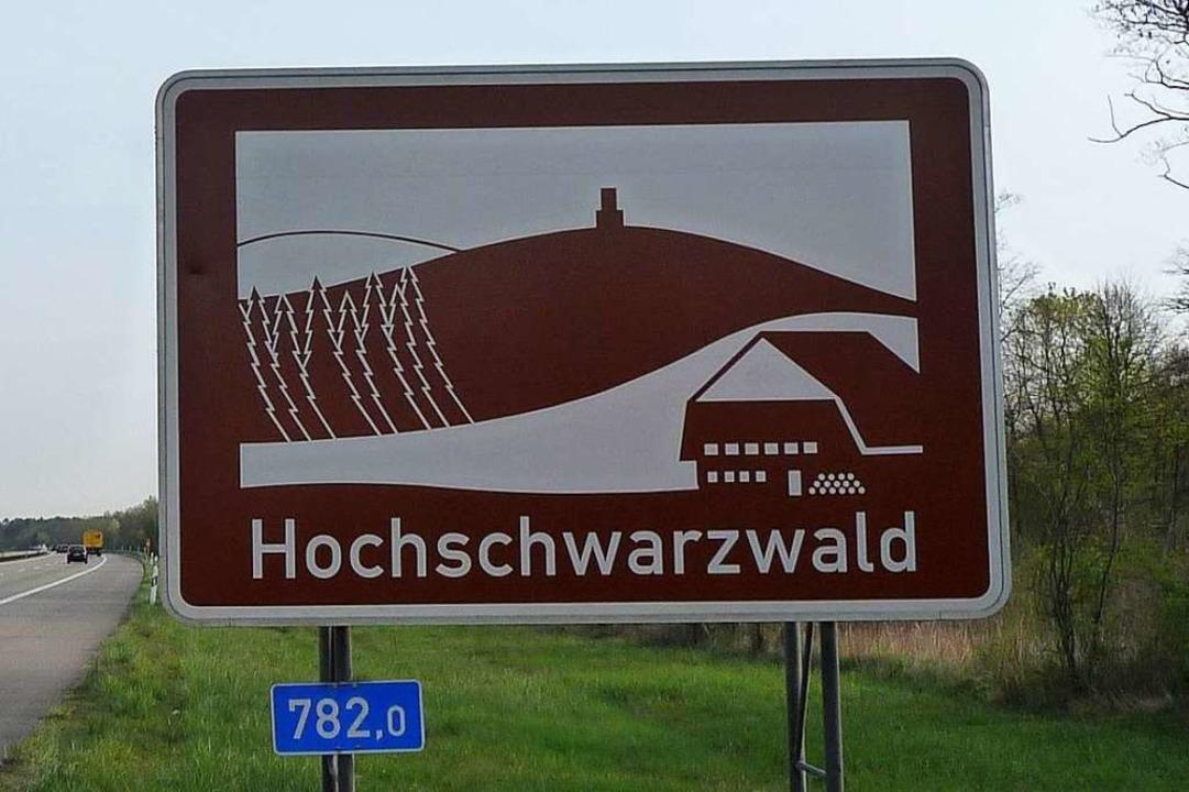 Sanfte Hügel, spitze Tannen: der Schwarzwald  an der Autobahn  | Foto: Regierungspräsidium Freiburg