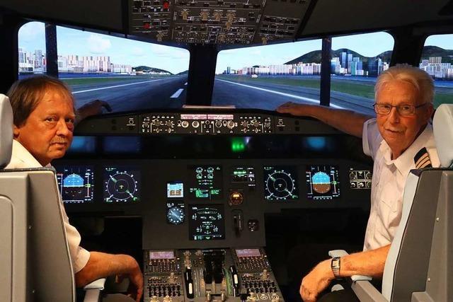 Diese Piloten lassen jeden ans Steuer ihres Airbus-A320-Simulators