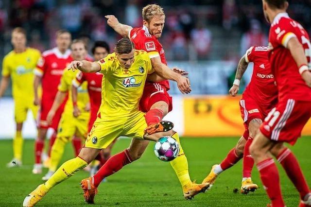 SC Freiburg spielt bei Union Berlin 1:1-Unentschieden