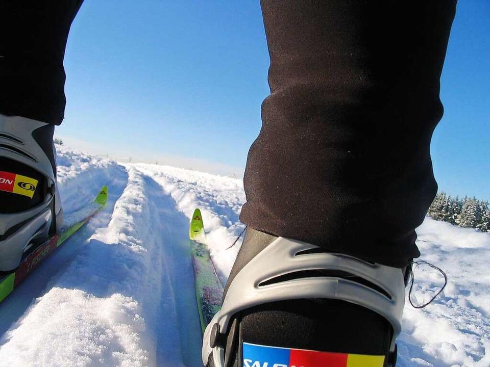 Verhältnisse wie diese konnte man  im ...ngenen Winter an einer Hand abzählen.   | Foto: Johannes Bachmann