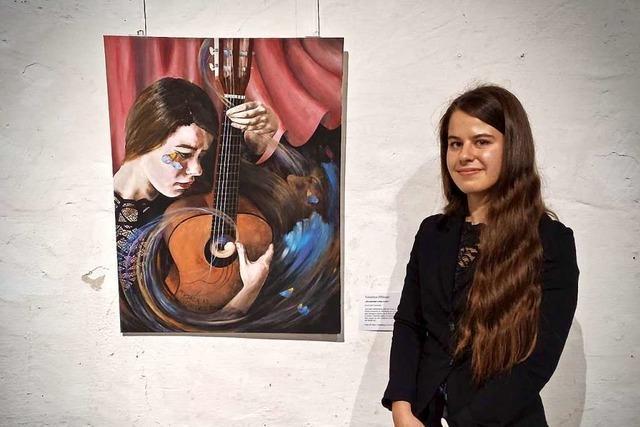 Menschen sind ihr liebstes Motiv: Jugendkunstpreis für Valentina Iffländer aus Offenburg