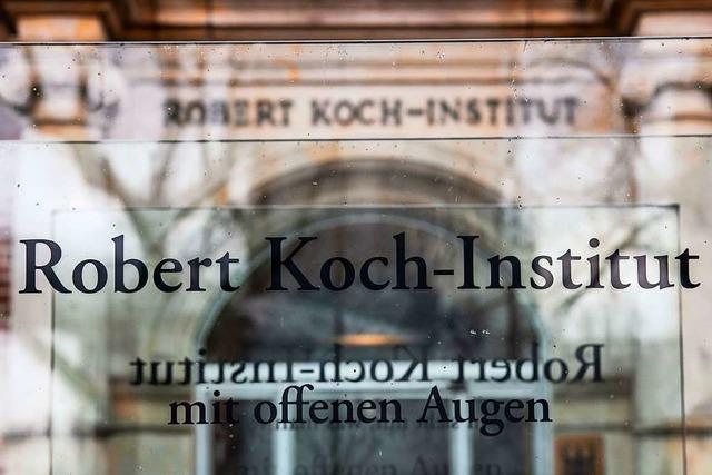 Brandsätze gegen Gebäude des Robert Koch-Instituts geworfen