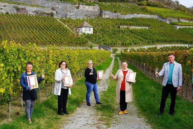 Siegel für vier Weinorte im Weinsüden