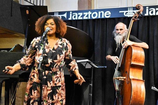 Im Lörracher Jazztone fand das erste Konzert seit Beginn der Pandemie statt