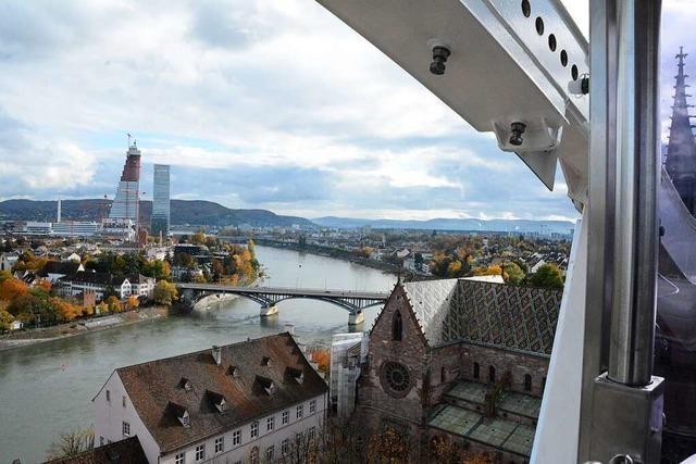 Das 550-Jahr-Jubiläum der Basler Herbstmesse ist eingeläutet