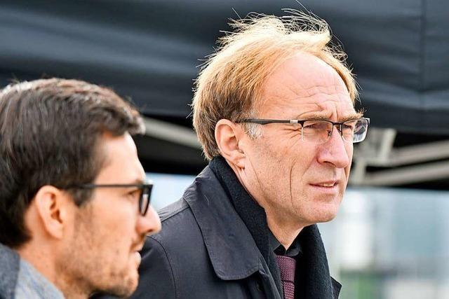Freiburgs Baubürgermeister Martin Haag positiv auf Corona getestet