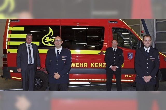 Lucas Kimmi wird Stadtbrandmeister