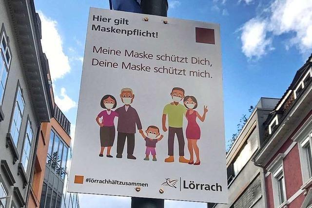 Am Wochenende gab es 66 neue Corona-Fälle im Kreis Lörrach
