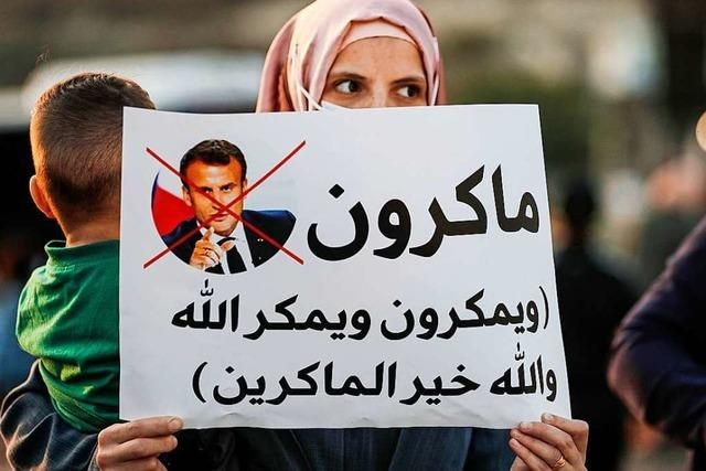 Arabische Länder boykottieren Frankreich wegen Mohammed-Karikaturen