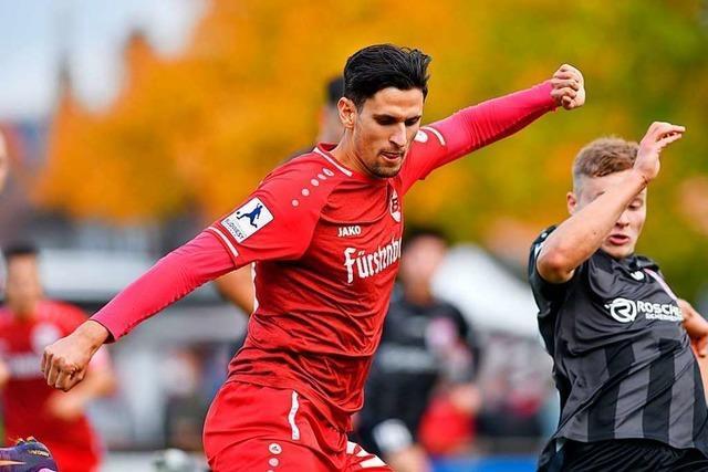 Ein Punkt für den Bahlinger SC nach zwei Falahen-Treffern