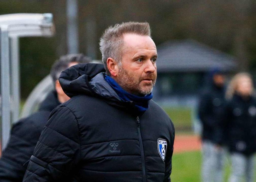 Oliver Dewes, Trainer des SC Lahr  | Foto: Benedikt Hecht