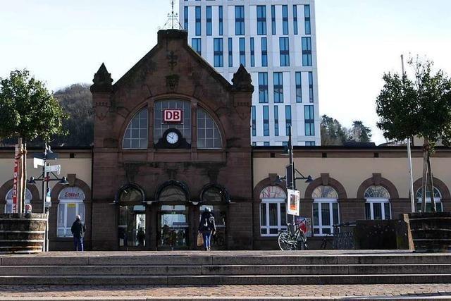 Der Lörracher Hauptbahnhof wird erst im kommenden Jahr umgebaut