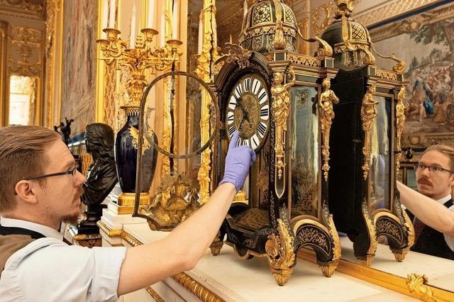 400 Uhren auf Schloss Windsor umgestellt