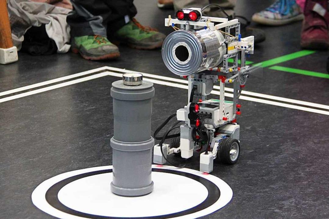 Der Wettbewerb RoboRave des Schülerfor...r erstmals im Netz statt (Archivfoto).  | Foto: Aaron Hohenfeld
