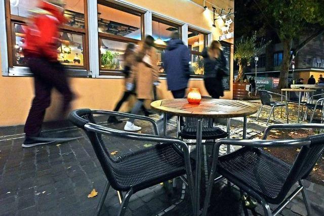 Corona-Sperrstunde: Am Wochenende war in Freiburg um 23 Uhr Schluss