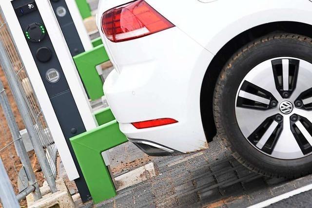 Die Zahl der E-Autos im Kreis Emmendingen steigt rasant