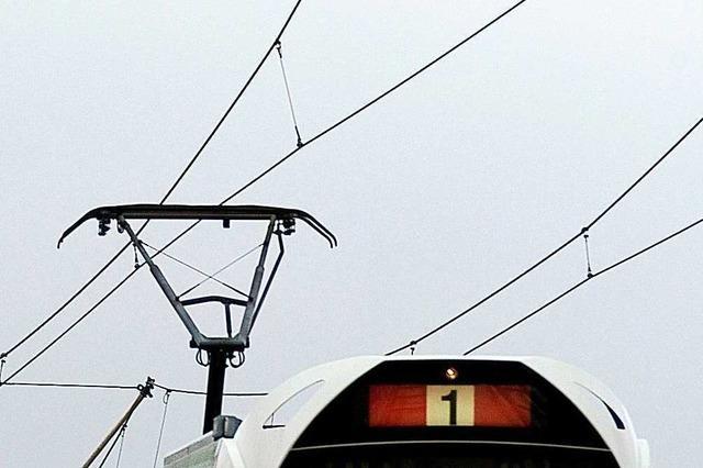 Stadtbahnlinien 1 und 3 in Freiburg zeitweise unterbrochen