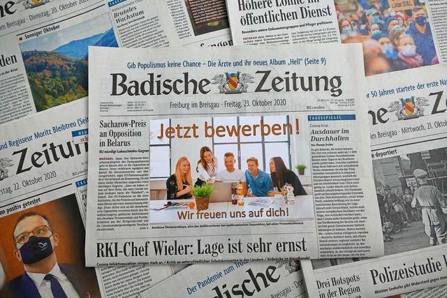 Ausbildung bei BZ.medien – Jetzt online bewerben