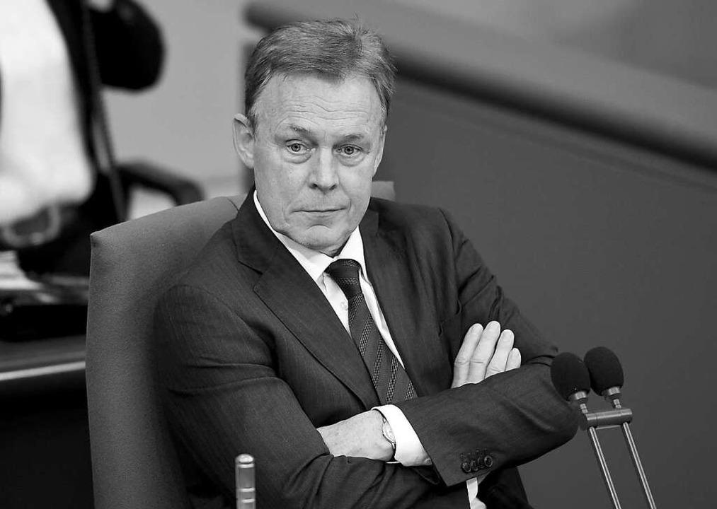 Thomas Oppermann im Bundestag, 2019.  | Foto: Britta Pedersen (dpa)