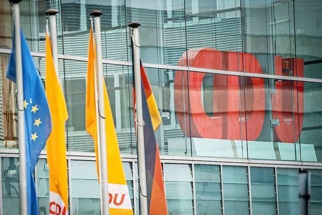 CDU-Spitze verschiebt Parteitag zur Vorsitzendenwahl ins Jahr 2021