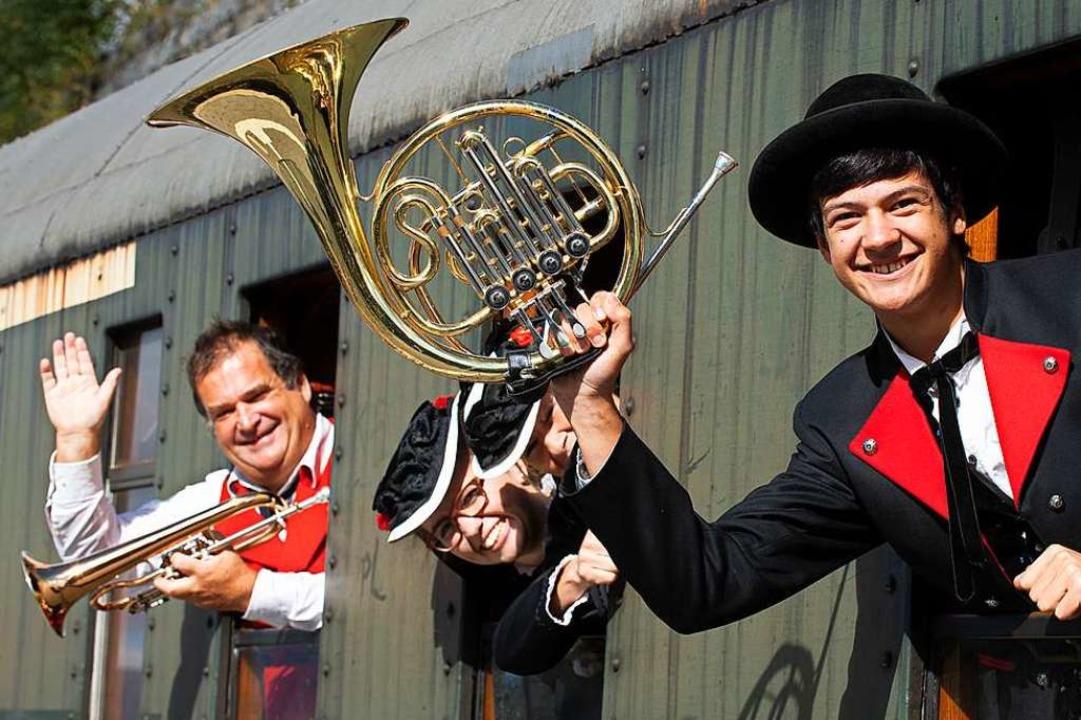 Beim Blosmusik-Festival war die Welt noch in Ordnung.     Foto: Wolfgang Scheu