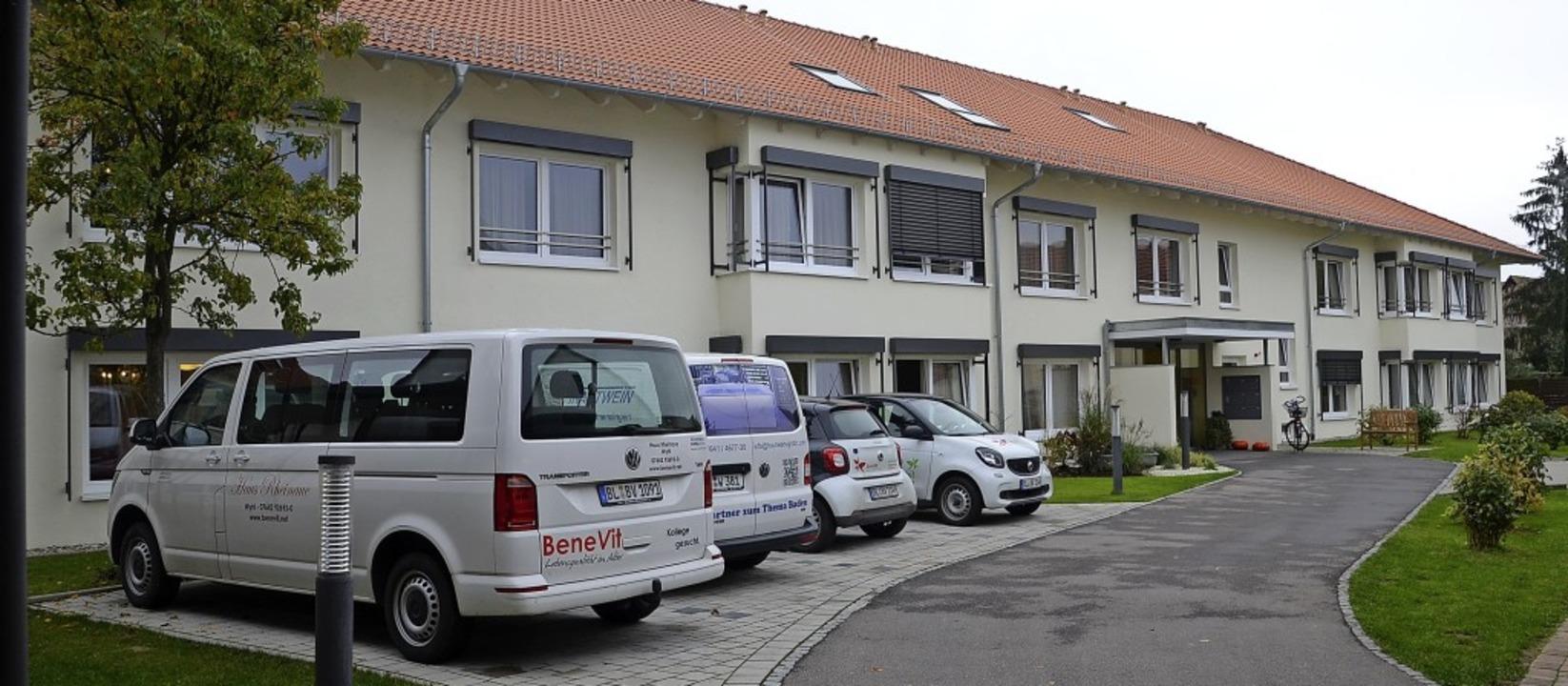 """In den vier Wohngruppen des Pflegeheim...inaue"""" leben rund  56 Menschen.     Foto: Roland Vitt"""