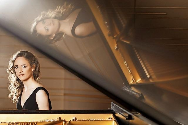 Goldmund-Streichquartett mit Pianistin Gabriela Fahnrnstil be den i Mary Codman Classics in Laufenburg