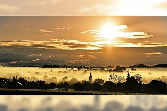 Sonnenaufgang im Ösch