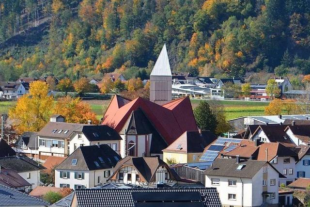 Neuer Kirchturm an St. Georgskirche