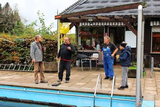 Der Schweigmattverein kämpft um den Erhalt des Schwimmbades