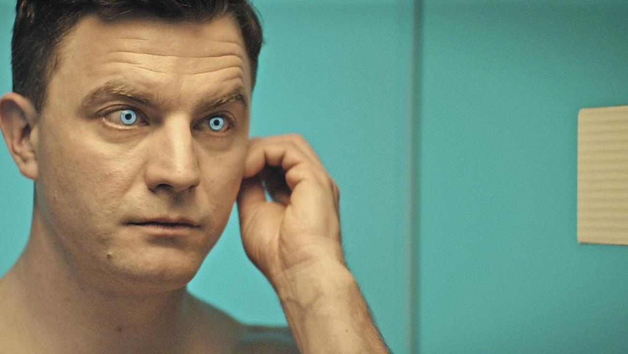 Dank holographischer Kontaktlinsen kan...me blicken:  Linus (Friedrich Mücke)      Foto: SWR