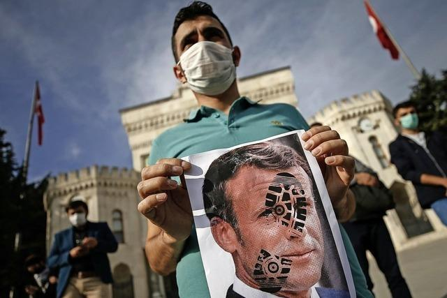 Erdogan greift Macron an