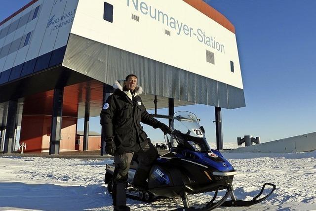 Science Days bieten Direktschalte zur Forschungsstation im ewigen Eis