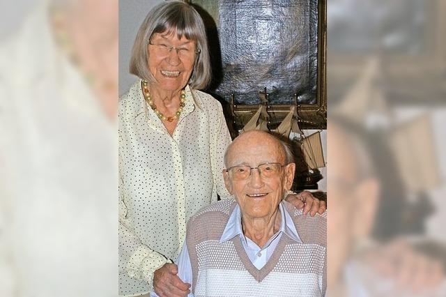 Margaretha und Walter Michel feiern ihre Gnadenhochzeit