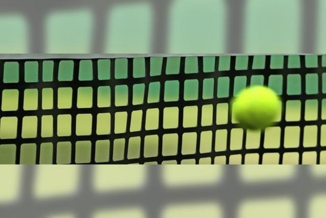 Neue Sandplätze für Tennis-Club