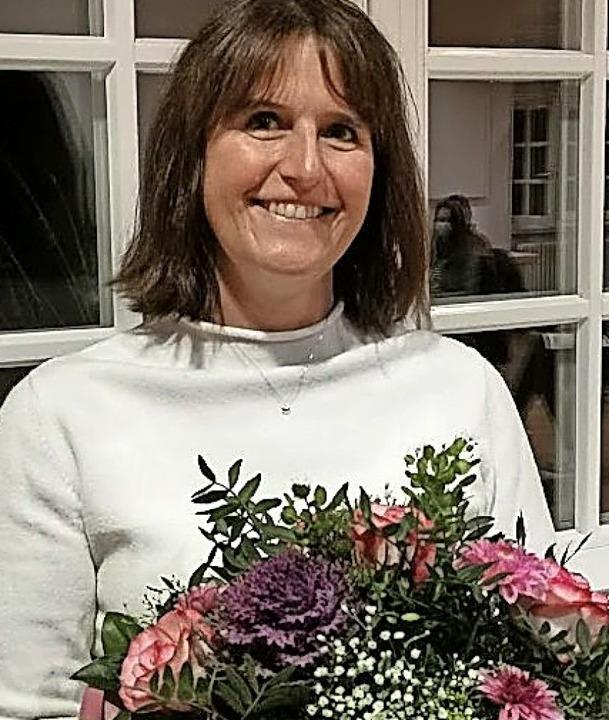 Claudia Linder ist seit 30 Jahren zweite Vorsitzende beim TB Binzen.    Foto: Privat