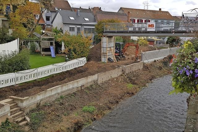 Hochwasserschutz am Brettenbach