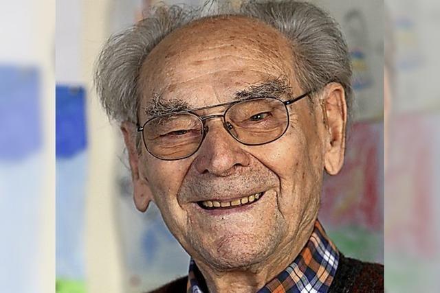 Philipp Lienert wird 103