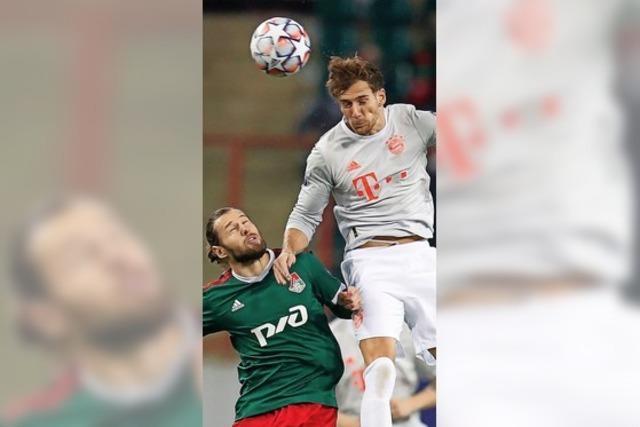 Die Bayern tuckern bei Lok zum Sieg