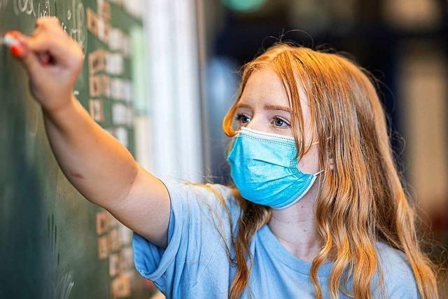 An Schulen im Kreis Lörrach gibt es kaum Probleme mit der Maskenpflicht