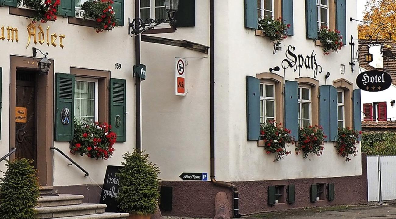 "Der ""Spatz"" (rechts) öffnet in Kürze als Pop-up-Restaurant.   | Foto: Herbert Frey"